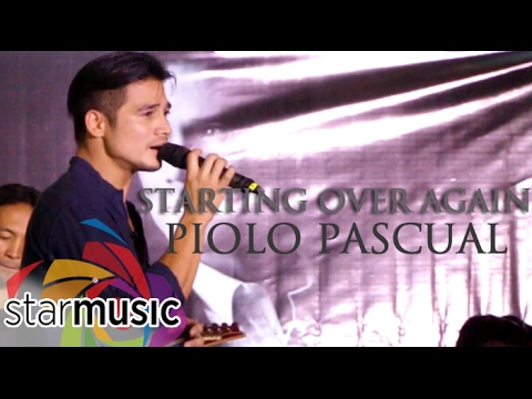 Piolo Pascual - Starting Over Again (Greatest Themes Album Launch)