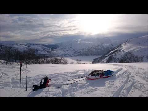 Perfect winter weekend in Sirdal, Norway