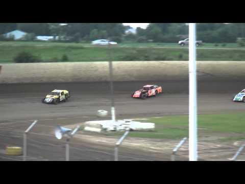 IMCA Sport Mod heats 34 Raceway 6/20/15