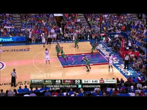 Jrue Holiday 20 points 6 assists vs Boston Celtics full highlights GM6 NBA Playoffs 2012.05.23