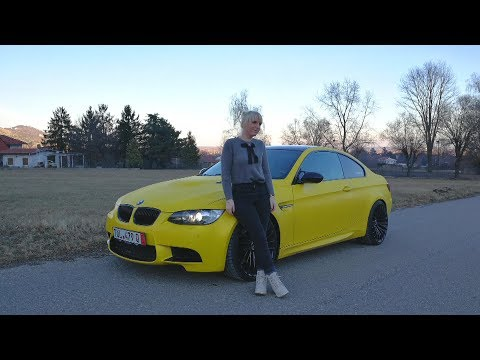 LETTING MY GIRLFRIEND DRIVE MY BMW M3! - (Sub ENG)
