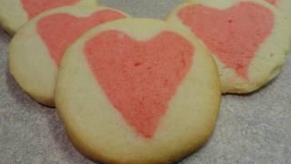 Valentine Heart - Cream Cheese Cookies