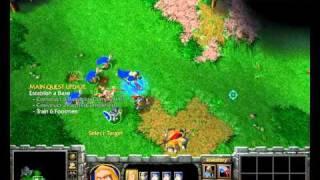Warcraft 3 RoC Speed Run : Human 2 - Hard
