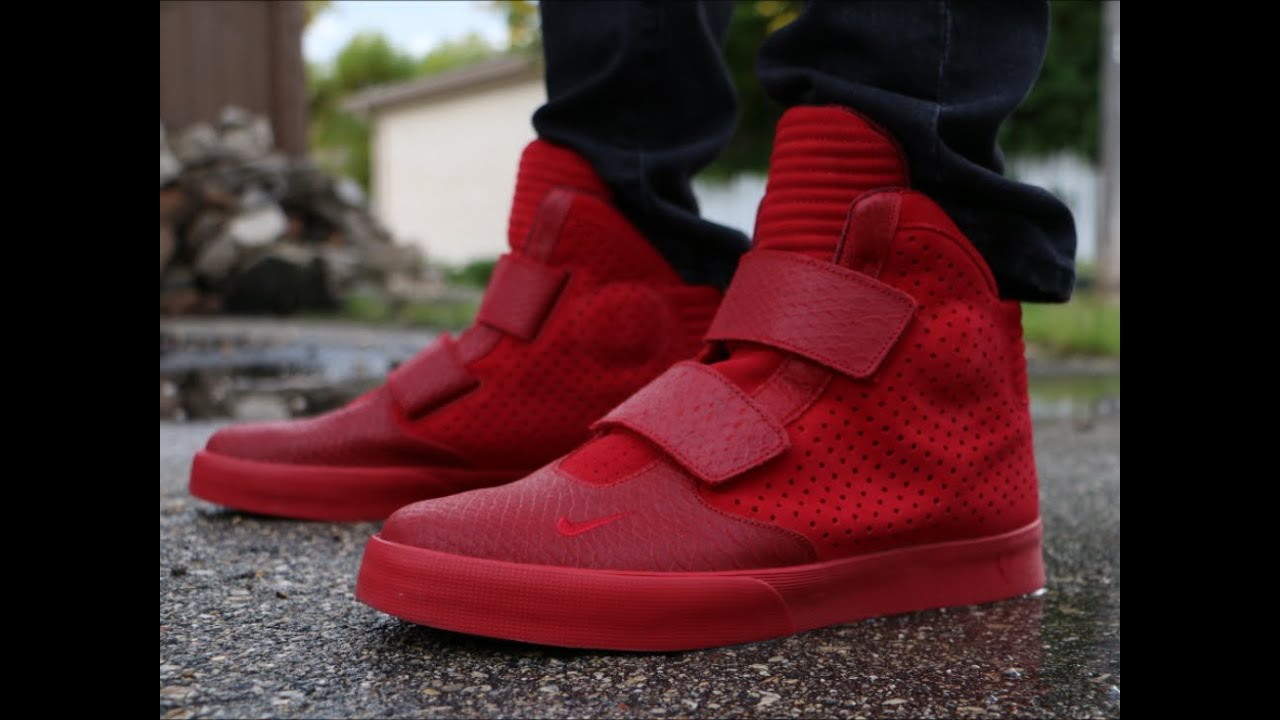 outlet store bef88 df0f1 Nike FlyStepper 2k3 Gym Red - On Foot
