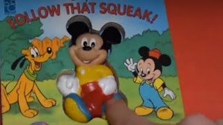 MICKEY MOUSE CLUBHOUSE FOLLOW THAT SQUEAK! PLAYHOUSE DISNEY JUNIOR VIDEOS SOUNDS BOOKS FUN TOYS thumbnail