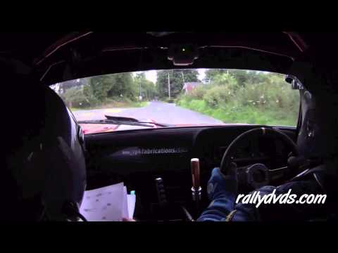 Eamon Dervan & Brian McNamara - Galway Summer Rally 2013 - Stage 4