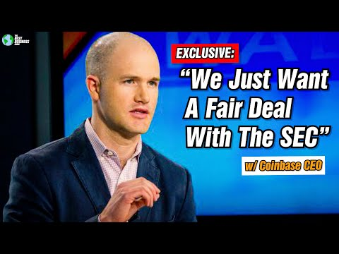 EXCLUSIVE: We Just Want A Fair Deal From The SEC: Coinbase CEO