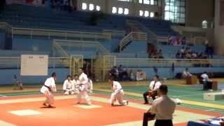 Su Pham Karate team - kata đồng đội nam - Sochin + Bunkai