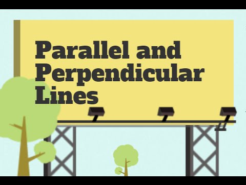 how to draw parallel and perpendicular lines