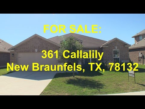 New Braunfels HUD Homes -- HUD King tours 361 Callalily