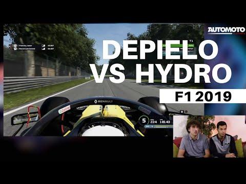 Depielo vs Hydro : Qui sera le plus rapide ? F1 Esports - Automoto la chaîne