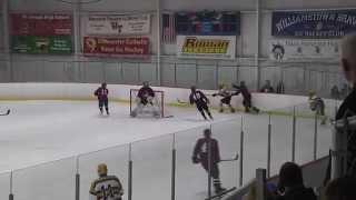 Rowan D3 Hockey vs SUNY Maritime - Full Game (Senior Night) - 2/7/15