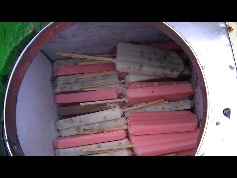 Jakarta Street Food 793 Choco Peanut Swaying Ice Es Goyang Pake Coklat Kacang BR TiVi 5479