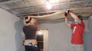 видео Утепление потолка