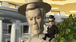 Sam & Max: Season 1 - Episode 4 - Abe Lincoln Must Die! [Full Episode][60 FPS]