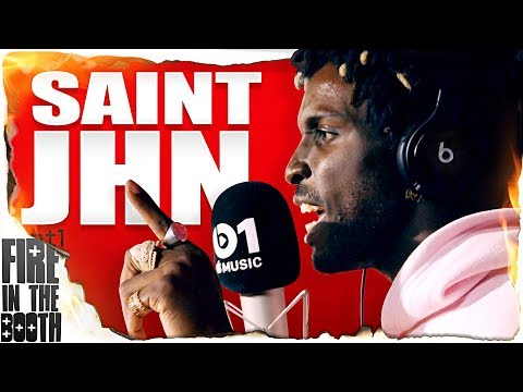 SAINt JHN - Fire In The Booth
