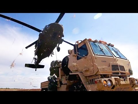 Black Hawk Helicopter Sling Load Operations Leave No Room For Error
