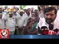 Minister Jagadish Reddy Visits Cheruvugattu Temple Brahmotsavalu And Offers Prayers | Nalgonda | V6