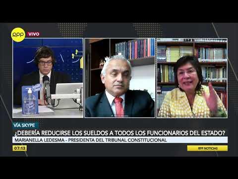 """Marianella Ledesma: """"Espero Que La Reducción De Sueldos Se Extienda A Todos Los Miembros Del Estado"""""""