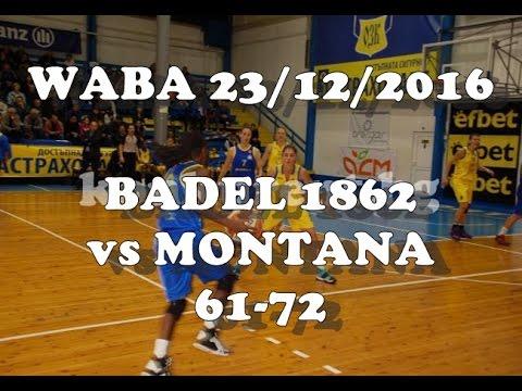WABA Badel 1862-Montana 19:00 LIVE