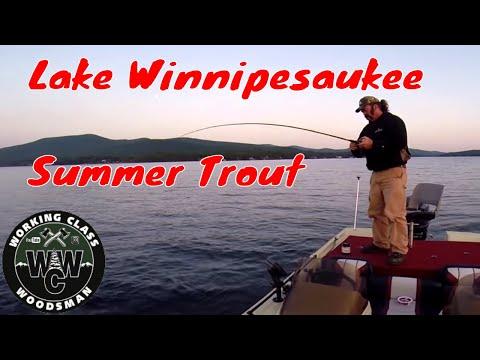 Deep Water Summer Lake Trout On PK Lures (Lake Winnipesaukee)