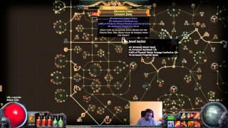 explosive arrow bm hardcore 8k life budget build diary 2 path of exile poe hc guide