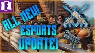 *ALL NEW* PRIVATE SERVER IN FORTNITE BATTLE ROYALE ESPORTS UPDATE!!! - *Fortnite Battle Royale News*