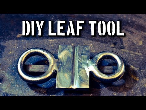 Blacksmith Leaf Jig: Blacksmith Jig for Forged Leaves