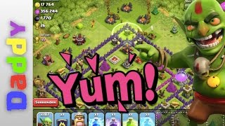 Clash Of Clans  | The GOBLIN Lonely troop series