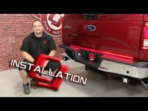 f-150 putco switchblade led tailgate light bar 60