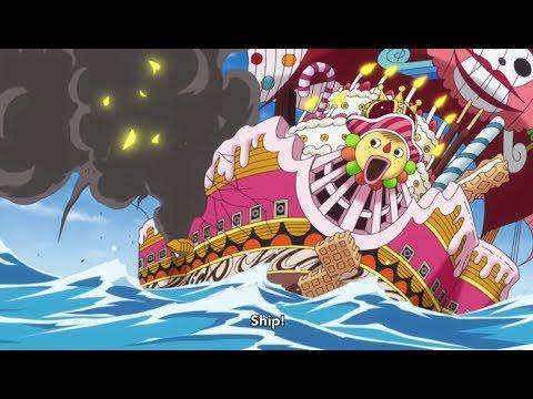 One Piece - Strawhats Vs Big Mom Pirates!! [HD]
