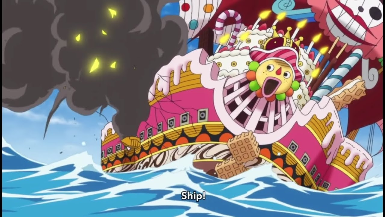 One Piece - Strawhats Vs Big Mom Pirates!! [HD]