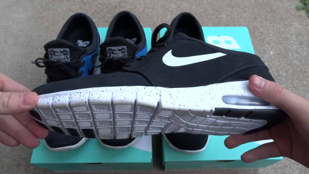 utsökt design klassisk passform Det bästa Nike SB Janoski Max Photo Blue and Suede Review & On Feet - YouTube