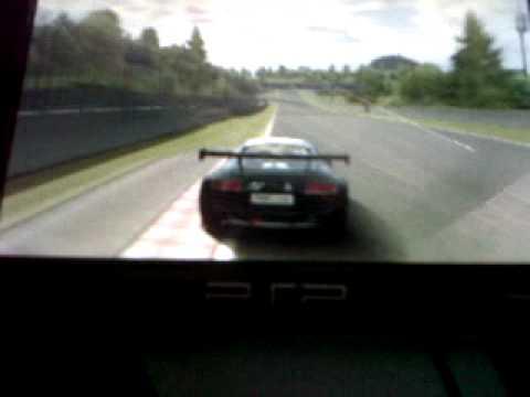 Gran Turismo PSP Audi R8 LeMans Race