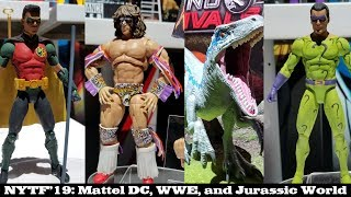 Toy Fair '19: Mattel DC Multiverse, WWE, and Jurassic World