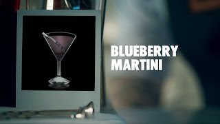 Blueberry Martini Drink Recipe - How To Mix