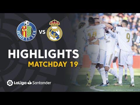 Highlights Getafe CF Vs Real Madrid (0-3)