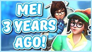 Overwatch - MEI 3 YEARS AGO (The History of Mei)