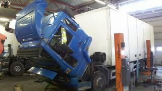 Вода в поддоне Volvo FL Water in the engine crankcase