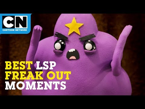 Adventure Time   Best Lumpy Space Princess Freak Out Moments   Cartoon Network