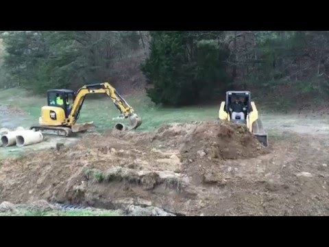 Storm water eroding property fix | Twelve Oaks Landscape | Fort Payne, AL to Chattanooga, TN