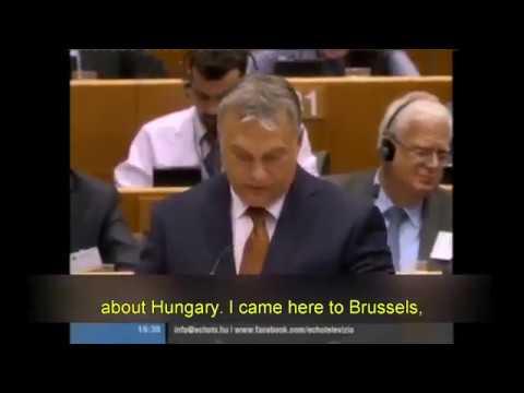 Orban full speech blasting soros and the eu 4/26/17 viktor orbán @ european parliament in brussels