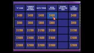 (rated R) bigmack and friends mess around on Jeopardy