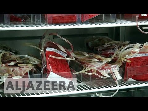 Yemen war: Fears as vital blood bank centre faces closure