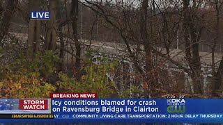 Icy Conditions Lead To 2-Vehicle Crash In Clairton