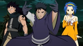 obito vs gajeel and levy