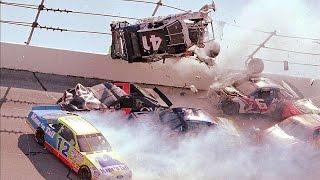 Nascar Crashes At Daytona And Talladega [HD] (Part 1)