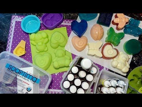 Что понадобится для изготовления мыла в домашних условиях? Стартовый набор для мыла ручной работы!