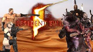 Resident Evil 5 on Veteran - Chris and Jill
