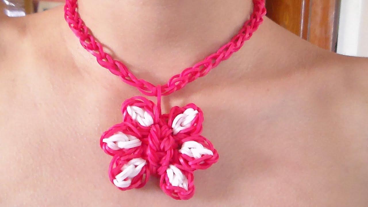 Como hacer un collar de gomitas en forma de flor para el - Como hacer un dosel para cuna ...